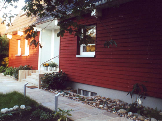 Einfamilienhaussanierung